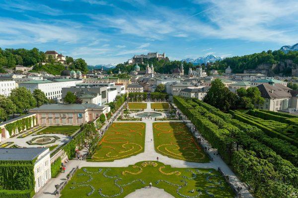 Парк Мирабель в Зальцбурге