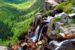 Самые красивые водопады Чехии