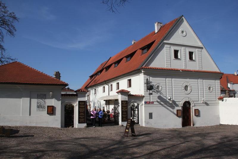 Klášterní pivovar Strahov Монастырская пивоварня Страгов