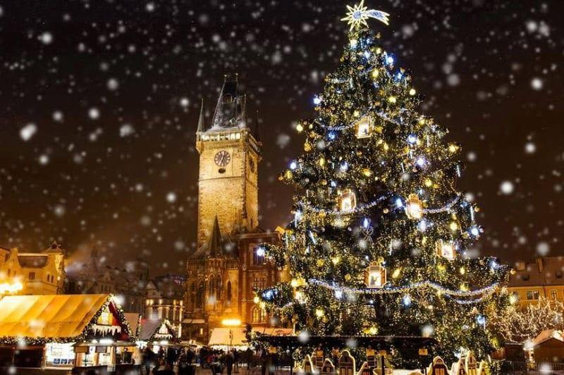 Рождество и Новый года в Праге. Где отметить?