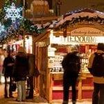 Рождественский рынок на площади Мира