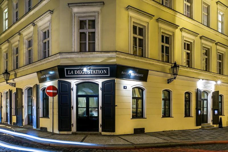 Рестораны Праги со звёздами Мишлен
